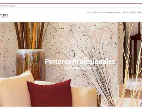 Diseño web, SEO y SEM para Pinturas Toledo